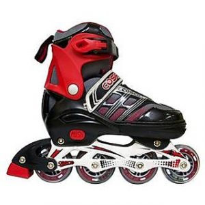 Cosco Sprint Inline Skate Red And Black