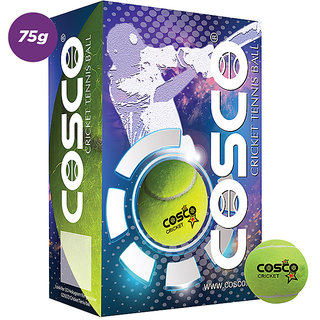 Cosco tennis ball light weight yellow 6pcs