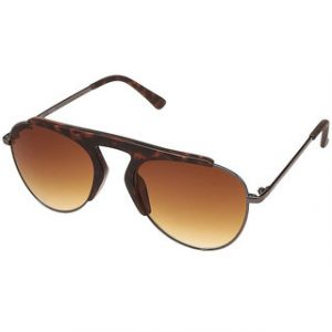 Fastrack Aviator UV Protection Sunglasses Brown
