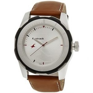 Fastrack Economy 2013 Analog White Dial Mens Watch