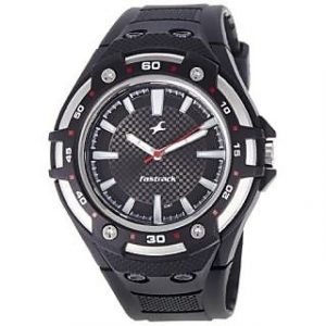 Fastrack Quartz Black Round Men Watch
