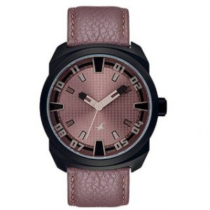 Fastrack Quartz Brown Round Men Watch
