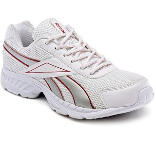 Reebok Men's White Running Shoes