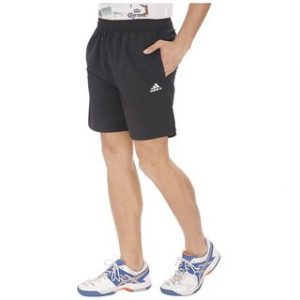Adidas Navy Blue Polyester Shorts black