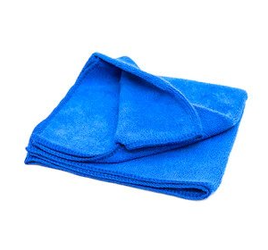 Abkar Microfiber cleaning cloth blue 280 gsm 40x40