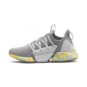 Puma Grey Hybrid Rocket Women's Running Shoes