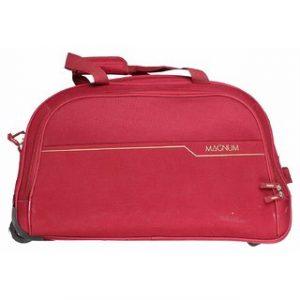 Safari Magnum 55 Duffel Trolley Bag Red
