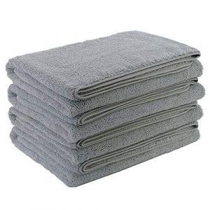 grey lint free micro fiber